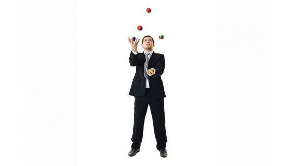 Administrators with balls