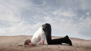 Don't bury your head in the sand about business debt