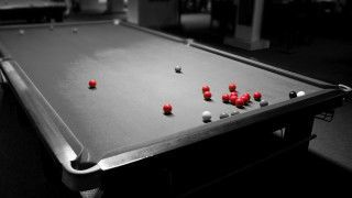 Before colour TV, snooker was just seven shades of grey