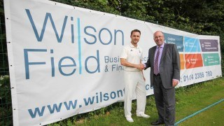 Young cricket talent search boosted by Wilson Field