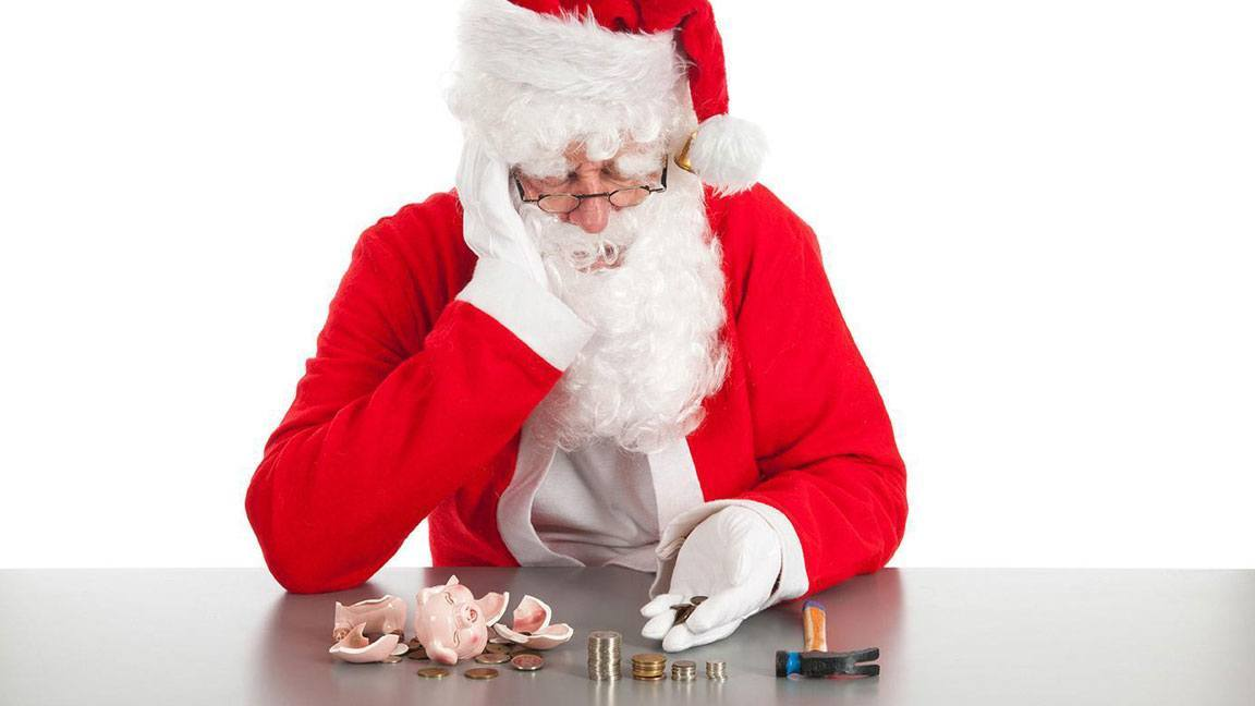 Santa may be facing bankruptcy