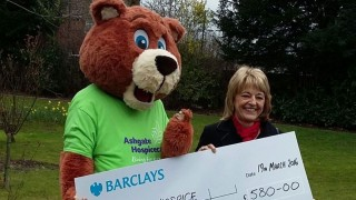 Wilson Field donate to Ashgate Hospice