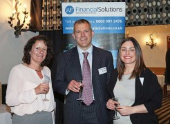 From left: Jane Illingworth of Santander, Matthew Dixon of MD Law and Laura Maloney of Santander