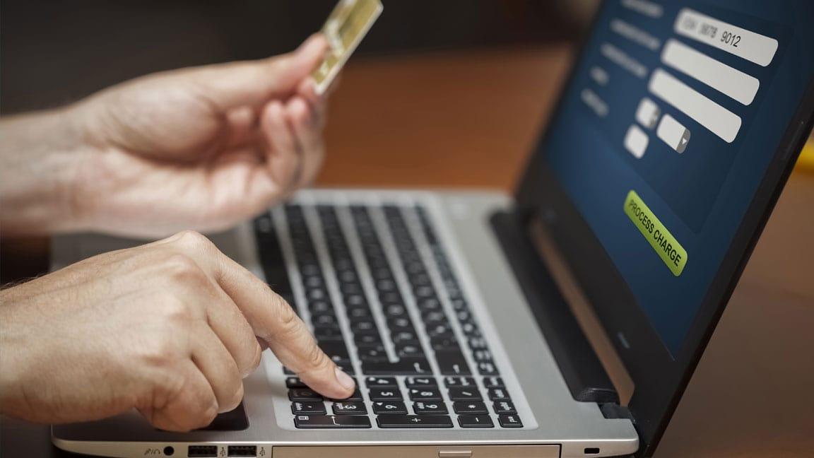 credit card management header
