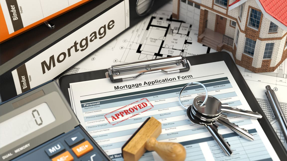 mortgage approvals fall header
