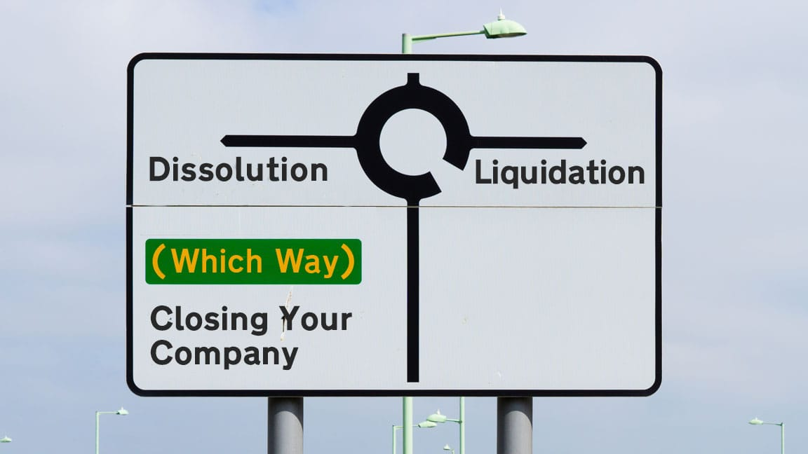 Dissolution – a cost-effective way to close an inactive company