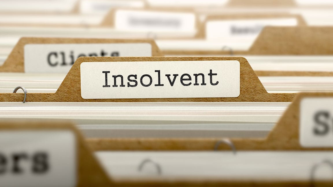 company solvent insolvent header