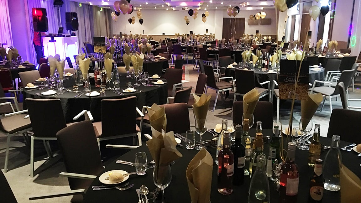 The venue looked amazing for Sheffield's first Interprofessional Ball
