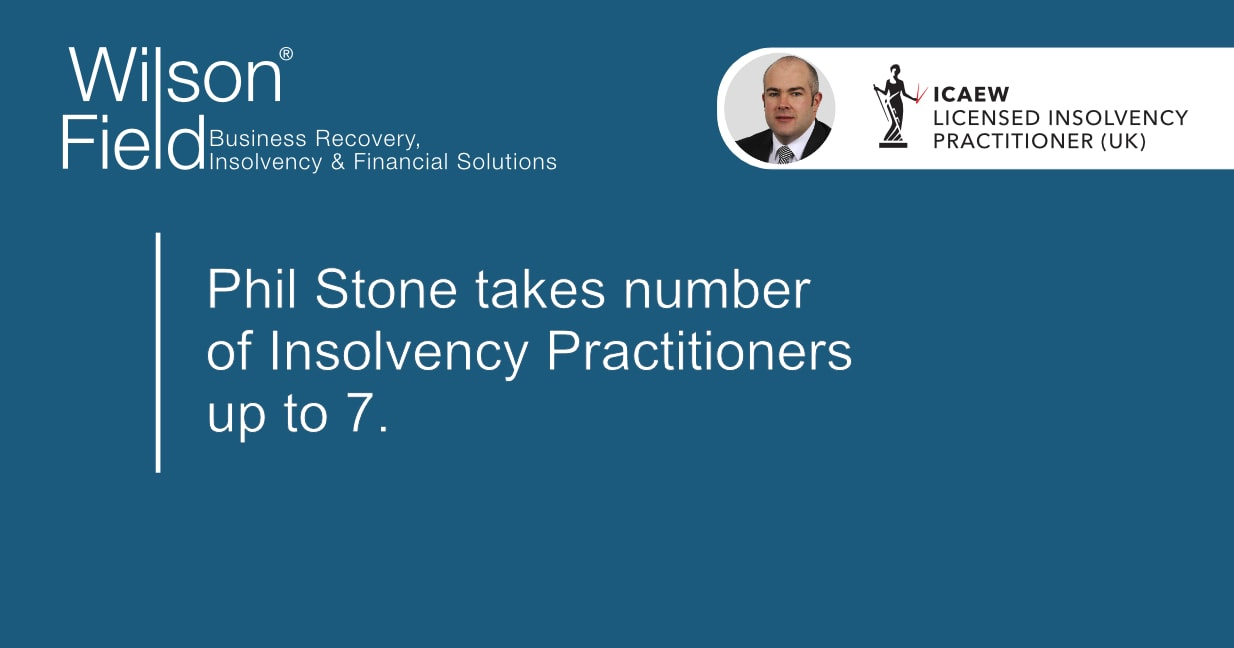 Licensed Insolvency Practitioner Phil Stone